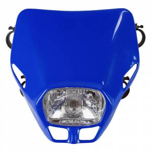 UFO Firefly headlight 12V 35W - Blue