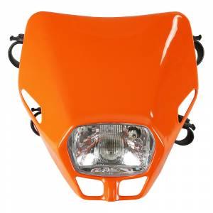 UFO Firefly headlight 12V 35W - Orange