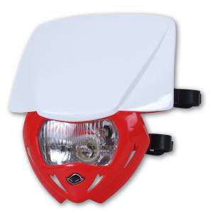 UFO Panther headlight 12V 35W - White Red
