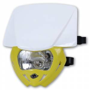 UFO Panther headlight 12V 35W - White Yellow