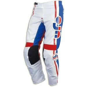 UFO Vintage White Motocross Pants