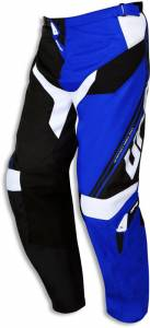 UFO Cluster Motocross Pants Combo in Blue (front)