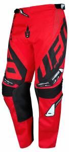 UFO Kids Mizar Red Black Motocross Pants
