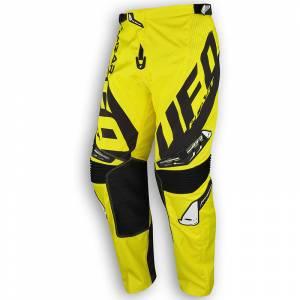 UFO Kids Mizar Yellow Black Motocross Pants