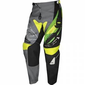 UFO Joint Grey Green Motocross Pants
