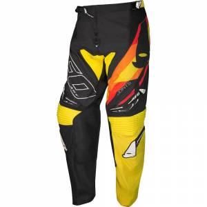 UFO Joint Black Yellow Motocross Pants