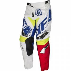 Draft White Red MX Enduro Pants