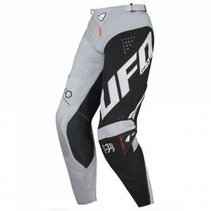 UFO Frequency Slim Black Grey Neon Orange Motocross Pants