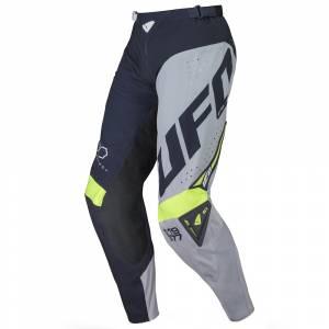 UFO Frequency Slim Blue Grey Neon Yellow Motocross Pants