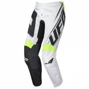 UFO Vanadium Black White Motocross Pants