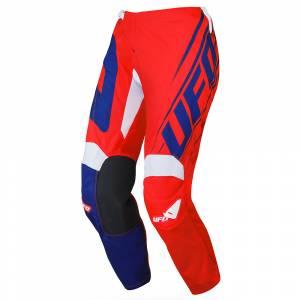 UFO Kids Vanadium Red Blue Motocross Pants