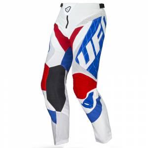 UFO Deepspace White Blue Motocross Pants