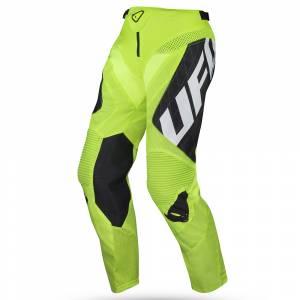 UFO Deepspace Neon Yellow Motocross Pants