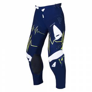 UFO Slim Adrenaline Blue Motocross Pants