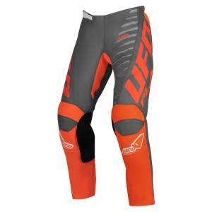 UFO Kimura Grey Orange Motocross Pants