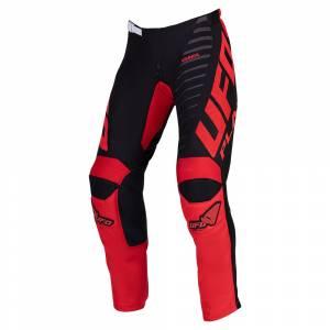 UFO Kimura Black Red Motocross Pants