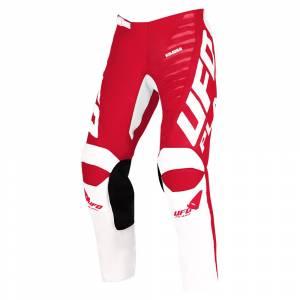 UFO Kids Kimura Red Motocross Pants