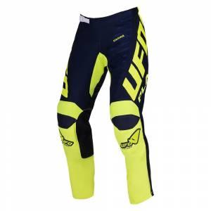 UFO Kids Kimura Blue Yellow Motocross Pants