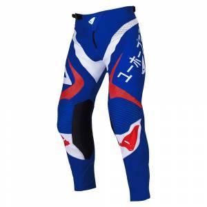 UFO Takeda Blue Red Motocross Pants