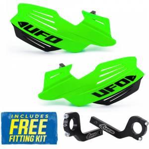 UFO Vulcan Handguards - Fluo Green