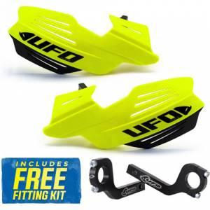 UFO Vulcan Handguards - Fluo Yellow