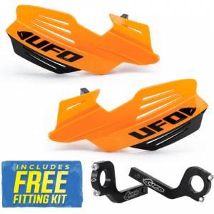 UFO Vulcan Handguards - Fluo Orange