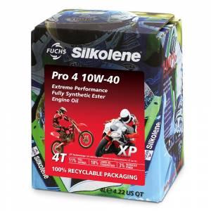 Silkolene PRO 4 10W 40 XP Engine Oil - 4 Litre Cube
