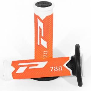 ProGrip 788 Triple Density Grips - White Fluo Orange Black