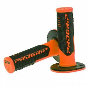 ProGrip 801 Dual Density Half Waffle Grips - Fluo Orange