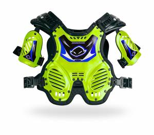UFO Kids (4-8 Years) Shockwave Fluo Yellow Motocross Chest Protector