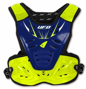 UFO Reactor 2 Evolution Blue Fluo Yellow Chest Protection