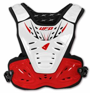 UFO Reactor 2 Evolution White Red Chest Protector