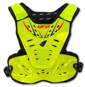 UFO Kids Reactor 2 Evolution Neon Yellow Chest Protector