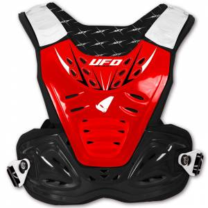 UFO Kids Reactor 2 Evolution Red Chest Protector