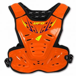 UFO Kids Reactor 2 Evolution Neon Orange Chest Protector