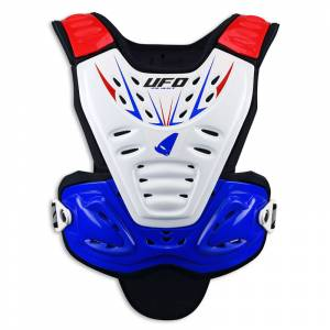 UFO Valkyrie EVO Blue Chest Protector (Long Version)