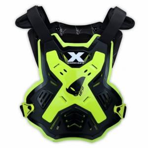UFO X-Concept Evo Black Neon Yellow Chest Protector