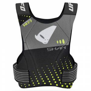 UFO Shan Grey Black Neon Green Chest Protector