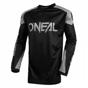 ONeal Matrix Ridewear Black Grey Motocross Jerseyy