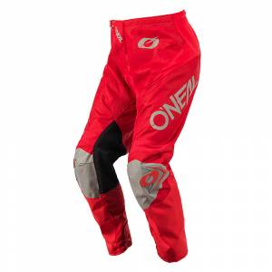 ONeal Matrix Racewear Red Grey Motocross Pants