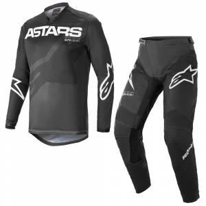 Alpinestars Racer Braap Black Anthracite White Motocross Kit Combo