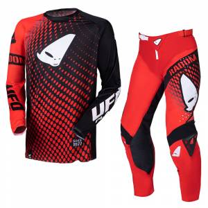 UFO Radom Slim Red Motocross Kit Combo
