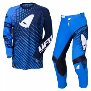 UFO Radom Slim Blue Motocross Kit Combo