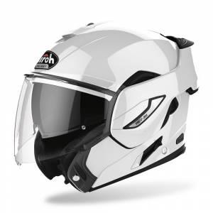 Airoh Rev 19 White Gloss Flip Up Helmet