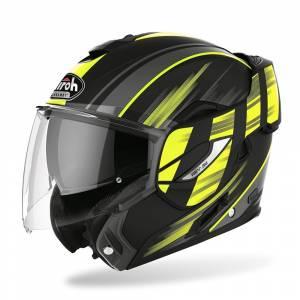 Airoh Rev 19 Ikon Yellow Flip Up Helmet