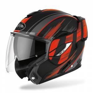 Airoh Rev 19 Ikon Orange Flip Up Helmet
