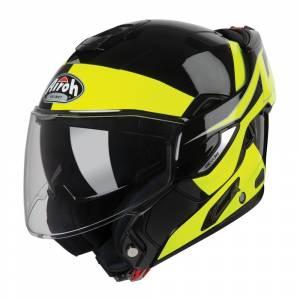 Airoh Rev 19 Fusion Yellow Flip Up Helmet