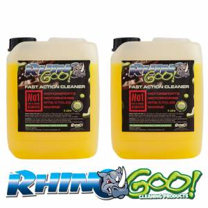 Rhino Goo Fast Action Cleaner - 10 Litres (2x5 Litre) Gets Muc OFF