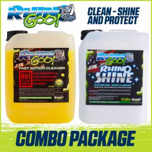 Rhino Goo Clean Shine and Protect