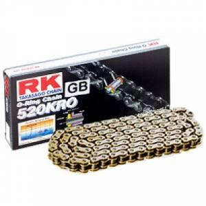 RK 520 KRO O-Ring Chain X 120 LINKS - Gold